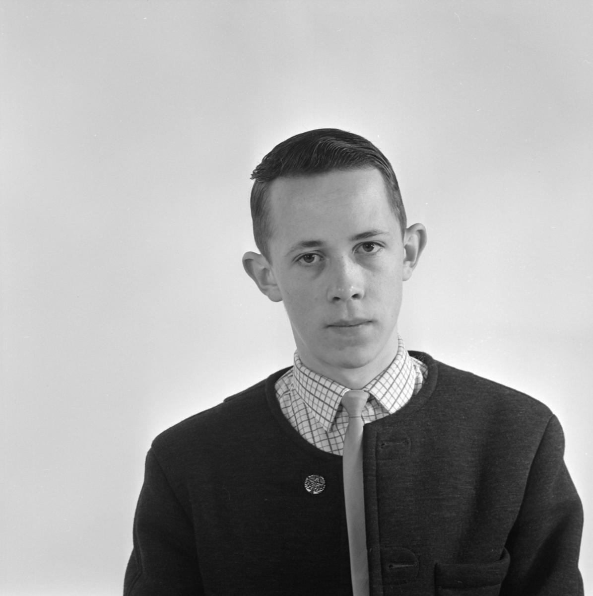 Hans Andersson, Uppsala april 1965