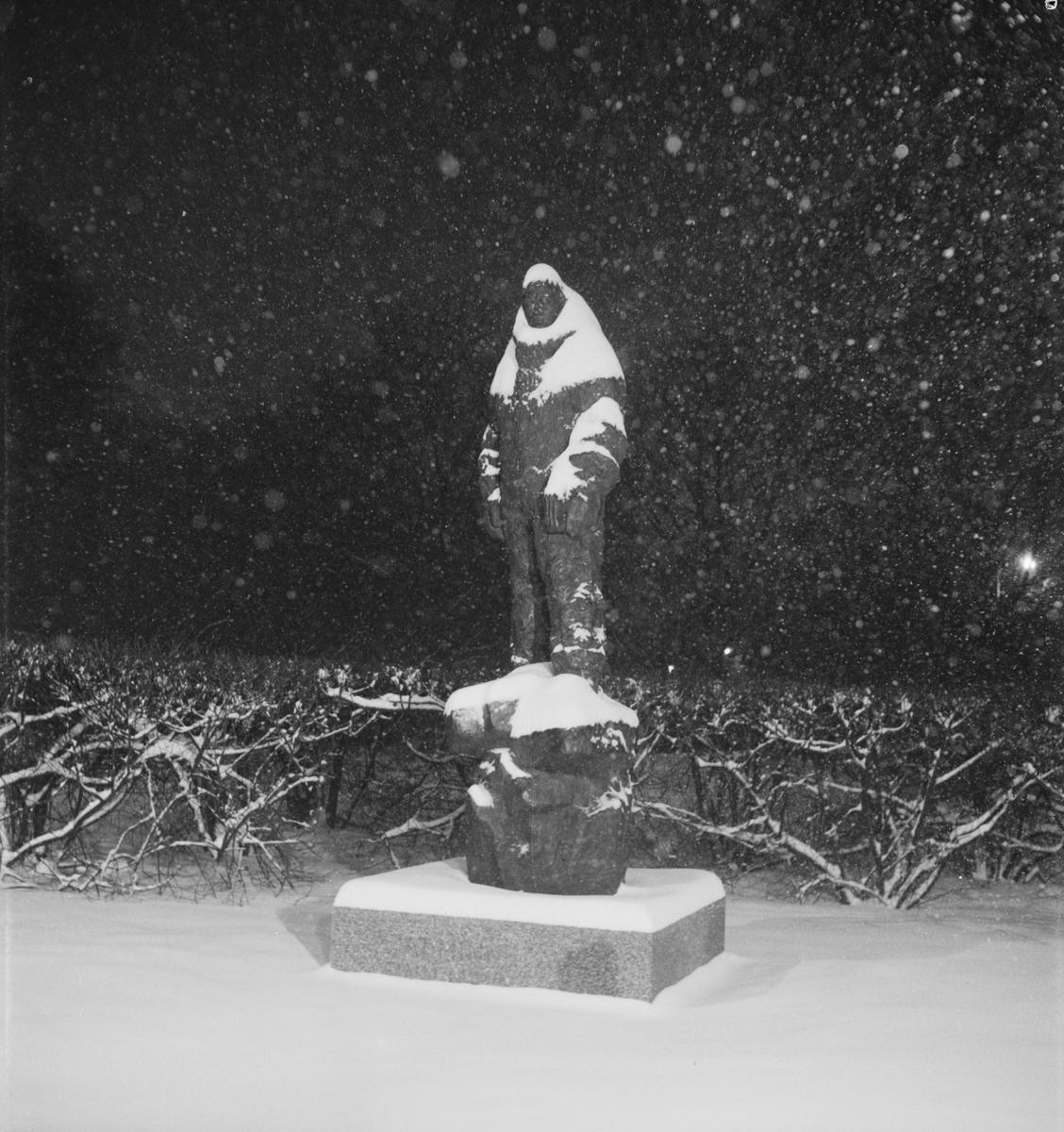 """""""Snöyra"""", Uppsala januari 1955"""