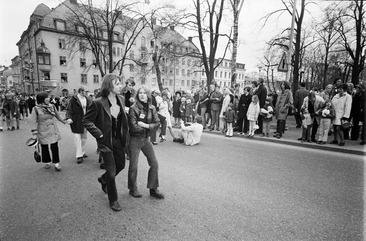 """""""Sista april"""", Uppsala april 1970"""
