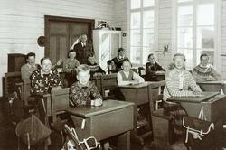 Skolebilde Sveindal skole.