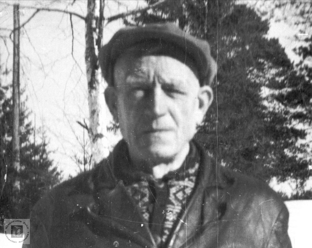 Portrett av Andreas Øvrebø.