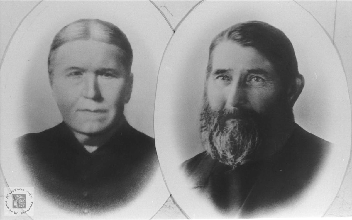 Ekteparet Randi og Nils Bue, Øyslebø.