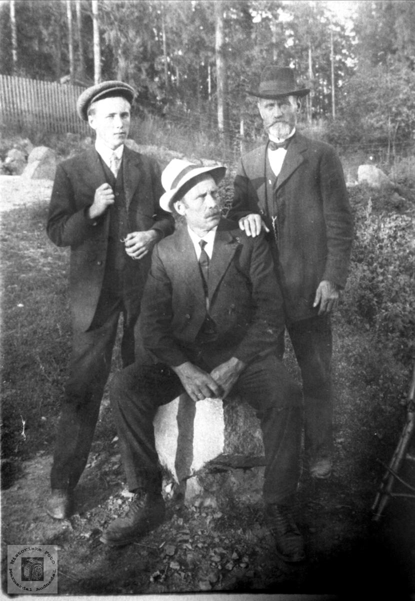 Gruppebilde Hesså, Bjelland.