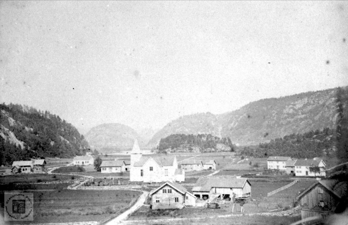 Øyslebø fra 1880