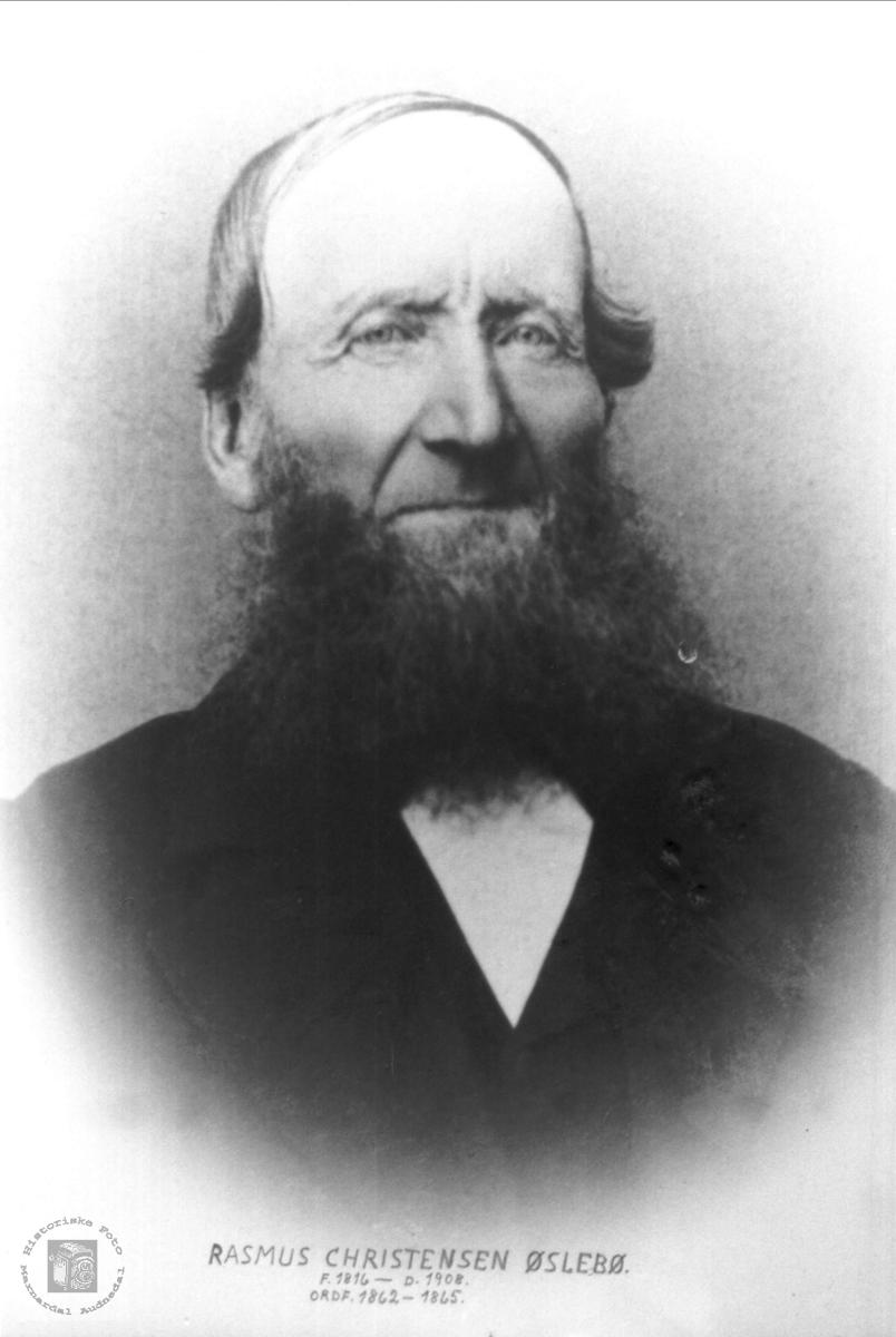 Portrett  Rasmus Øslebø