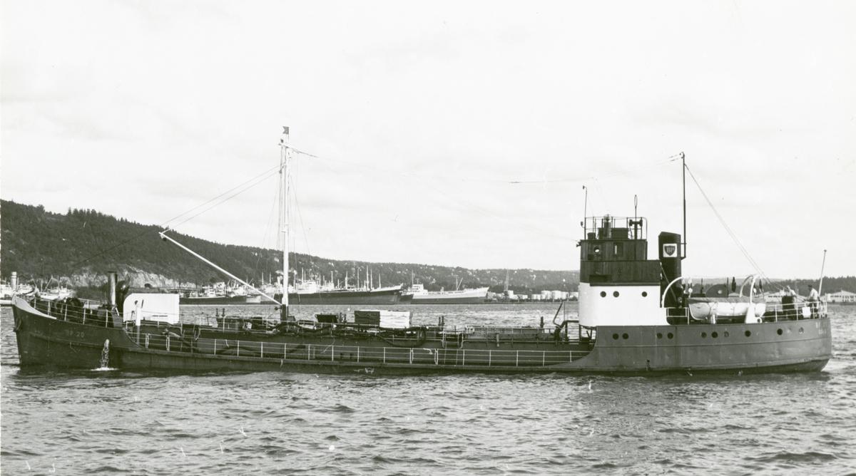 M/T  B.P. 20 (Ex. Mil 20, Belt)(b.1936, Werft Nobiskrug, Rendsburg)