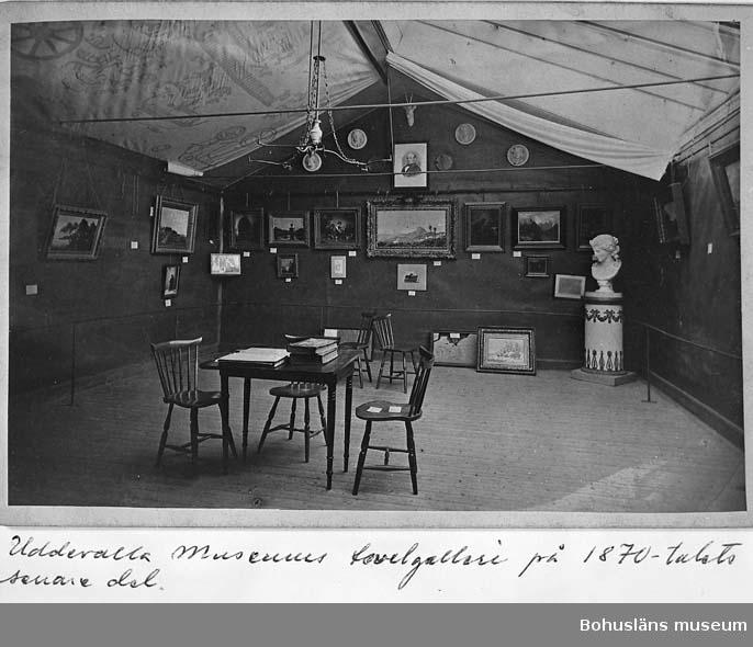 """""""Uddevalla museums tavelgalleri på 1870-talets senare del""""."""