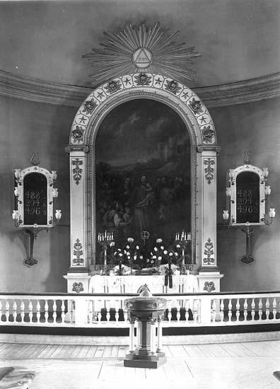 Koret i Uddevalla kyrka