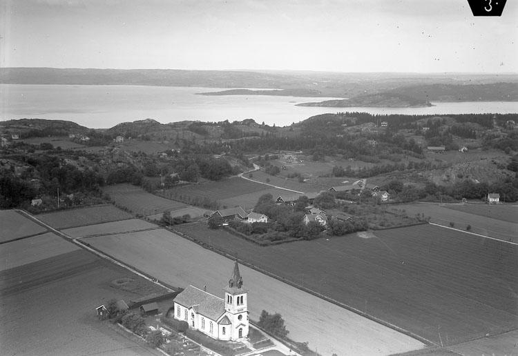 Flygfoto över Ödsmål 1935