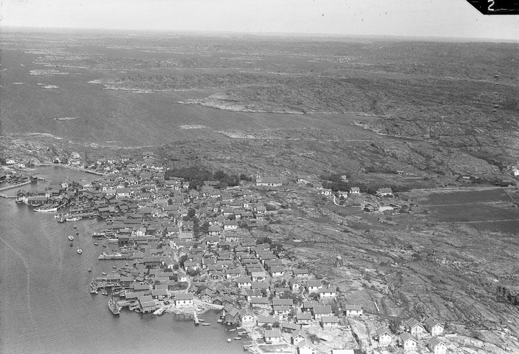 Flygfoto över Mollösund