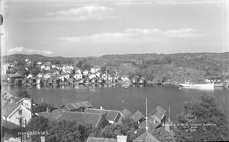 """Enligt AB Flygtrafik Bengtsfors: """"Fiskebäckskil Bohuslän"""".              ::"""