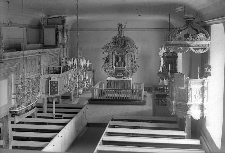 """Enligt AB Flygtrafik Bengtsfors: """"Morlanda kyrka int. Bohuslän""""."""