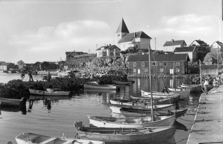 Skärhamn på Tjörn.