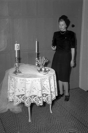 """Enligt notering: """"Husmodersförening 20/1 1947""""."""