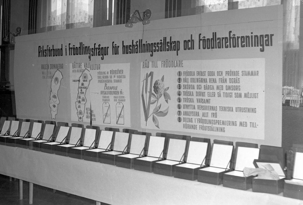 Affisch om fröodling