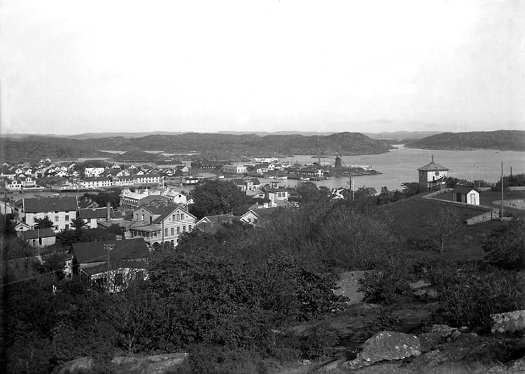 Vy från Marstrand åt sydost