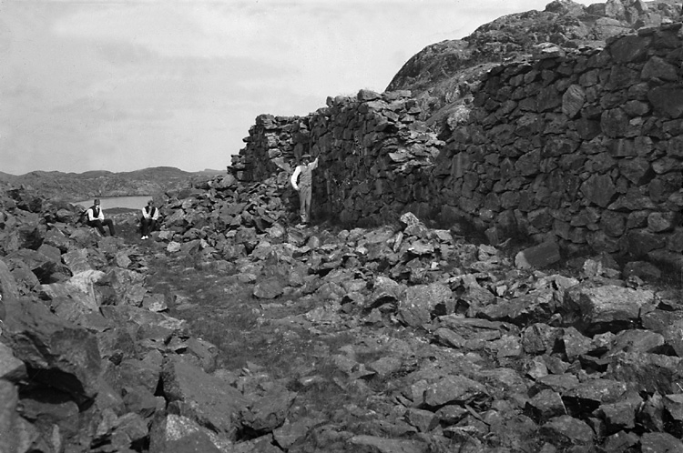 Stensholmens trankokeri, ruin.