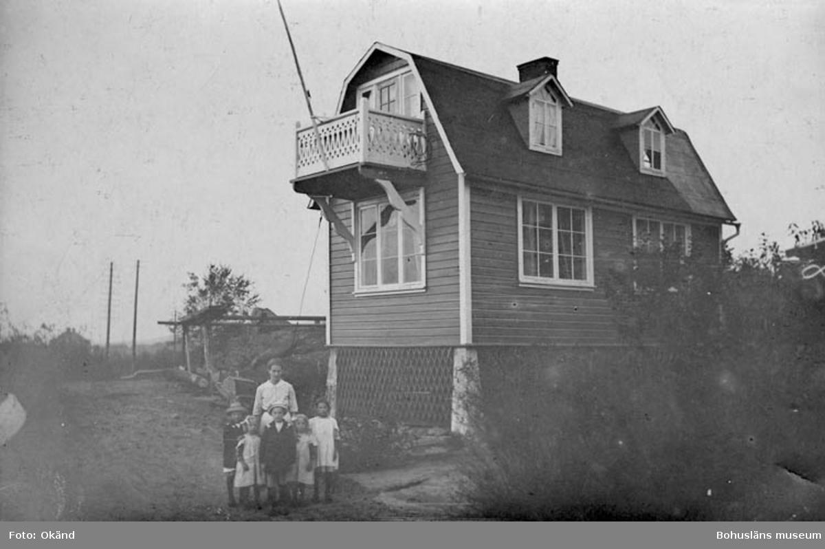 Familjen Alfred och Gerda Bohlins hem Alphyddan