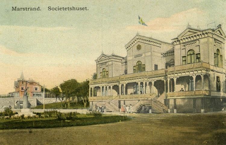 Marstrand. Societetshuset.