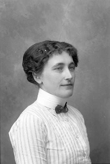 """Enligt fotografens journal Lyckorna 1909-1918: """"Lindberg, Fr. Lyckorna""""."""