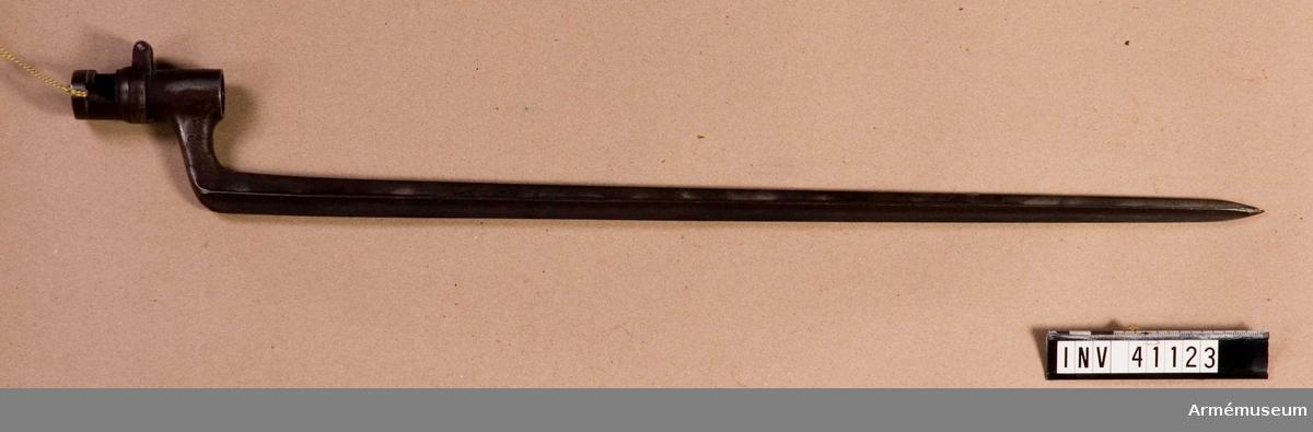 Grupp E II f. Bajonett till 12 mm gevär m/1867.
