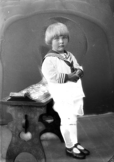 "Enligt fotografens journal nr 5 1923-1929: ""Pettersson, Joel, Husebacken, Svenshögen""."