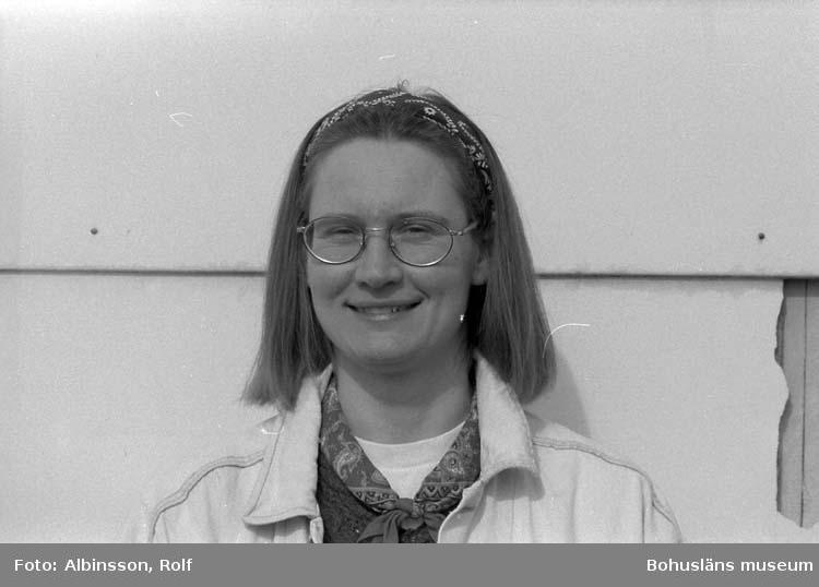 """Enligt fotografens noteringar: """"Carin Hasselberg Garcia.""""  Fototid: 1996-04-23."""