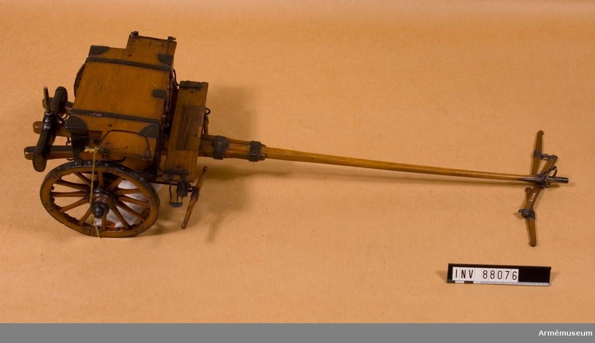Grupp F I. Skala 1/8.   Helvigs konstruktion, fastställd 1804.