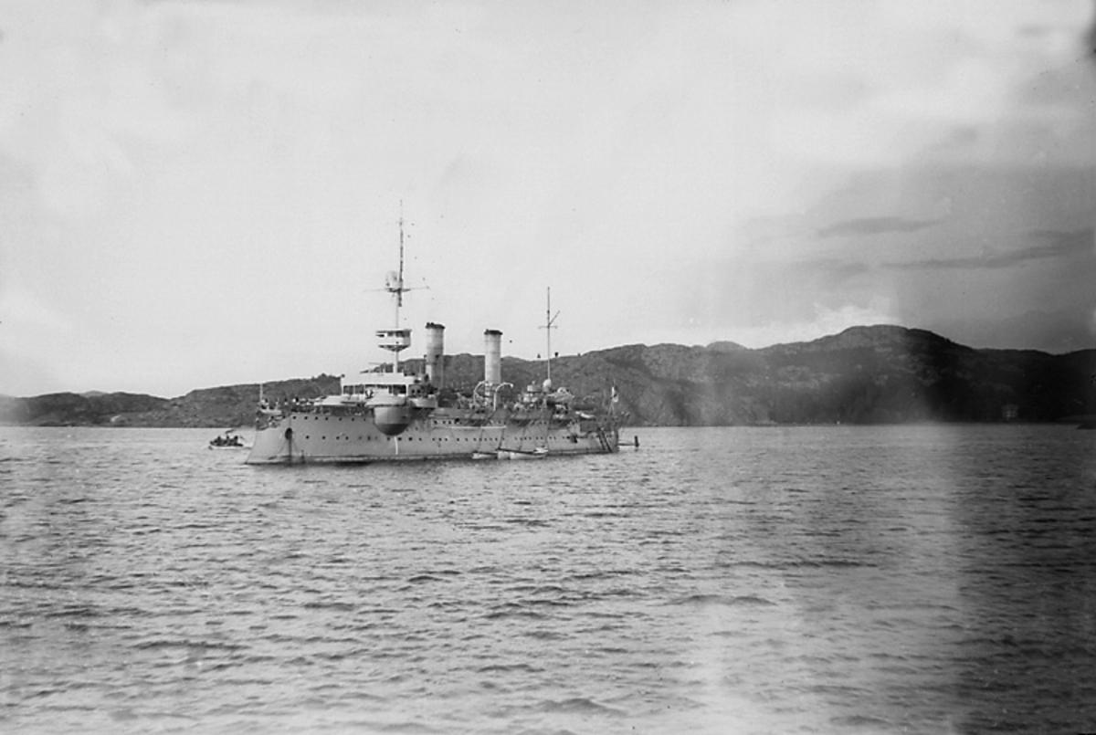Tyska Pansarbåten. 1903.