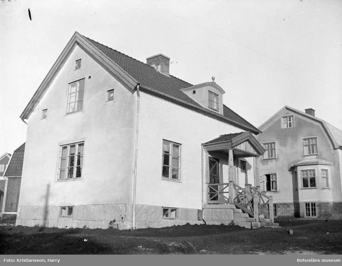 Elsebergsgatan 23 i Uddevalla runt 1930