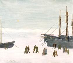 Isdans [Målning]