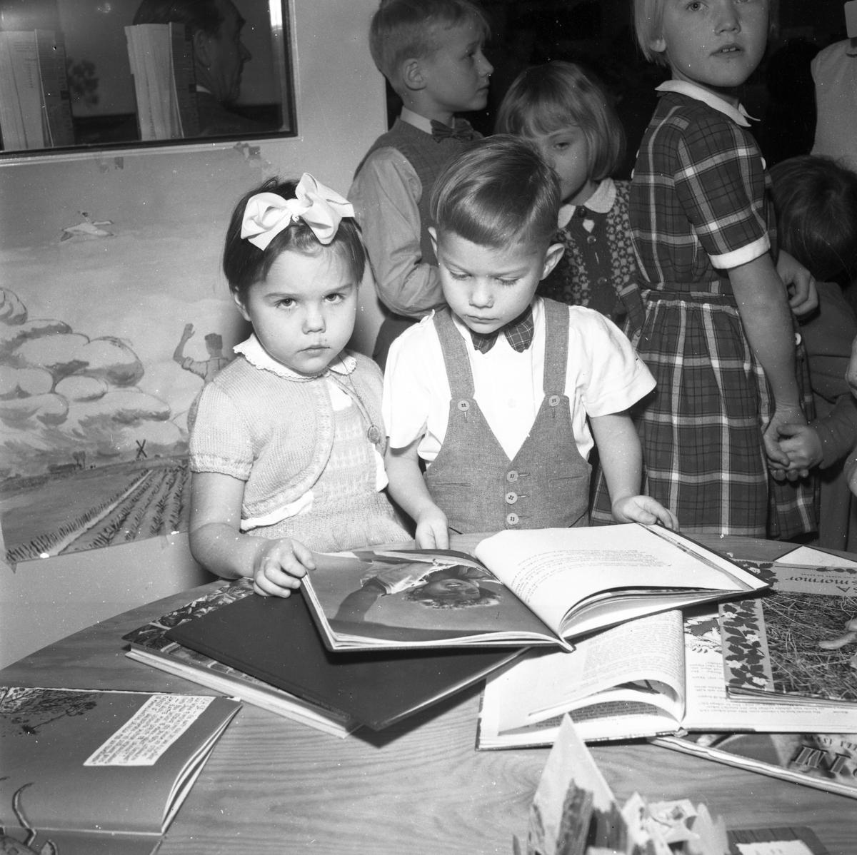 Barnträdgårdsverksamhet. 1950-tal.
