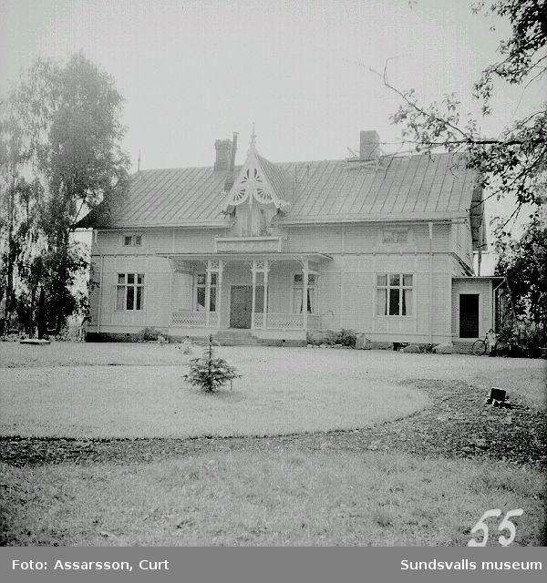 Herrgårdsbyggnaden  i de s.k Svartviks gårdarna.
