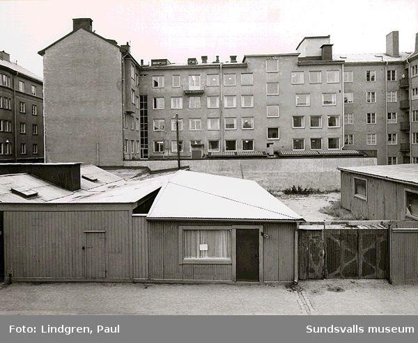 Parkering Sundsvalls stad, Trädgårdsgatan 7-9.