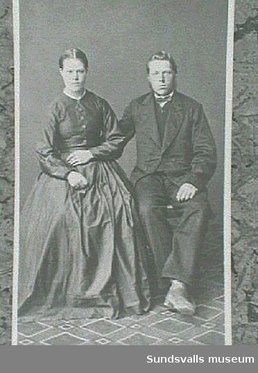 Porträtt av par.