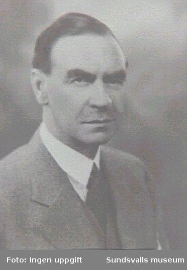 Anders Brunes, f 1874, d 1953, disponent för Hovids sågverk 1921-1942.
