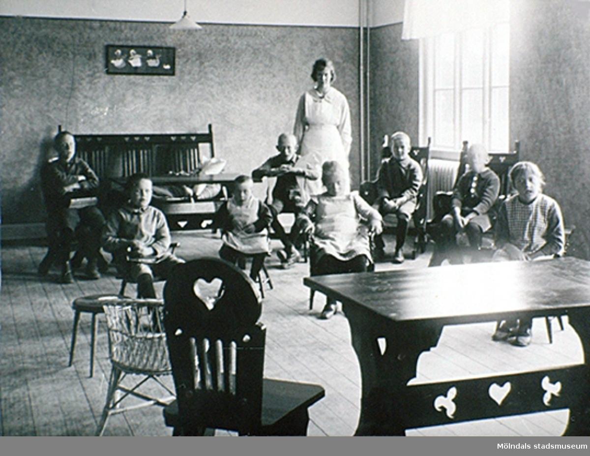 Asylen på Stretered, 1921.