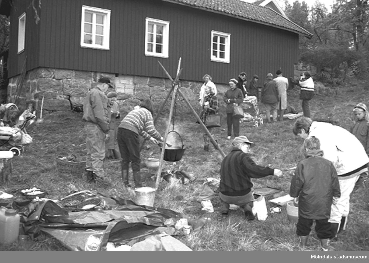 Familjesöndag på Börjesgården, 1994-05-15?