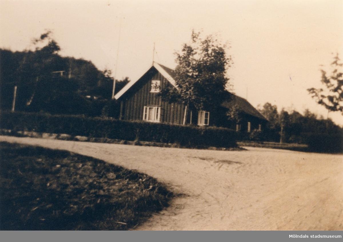 Den första mangårdsbyggnaden vid Streteredshemmet i Kållered.