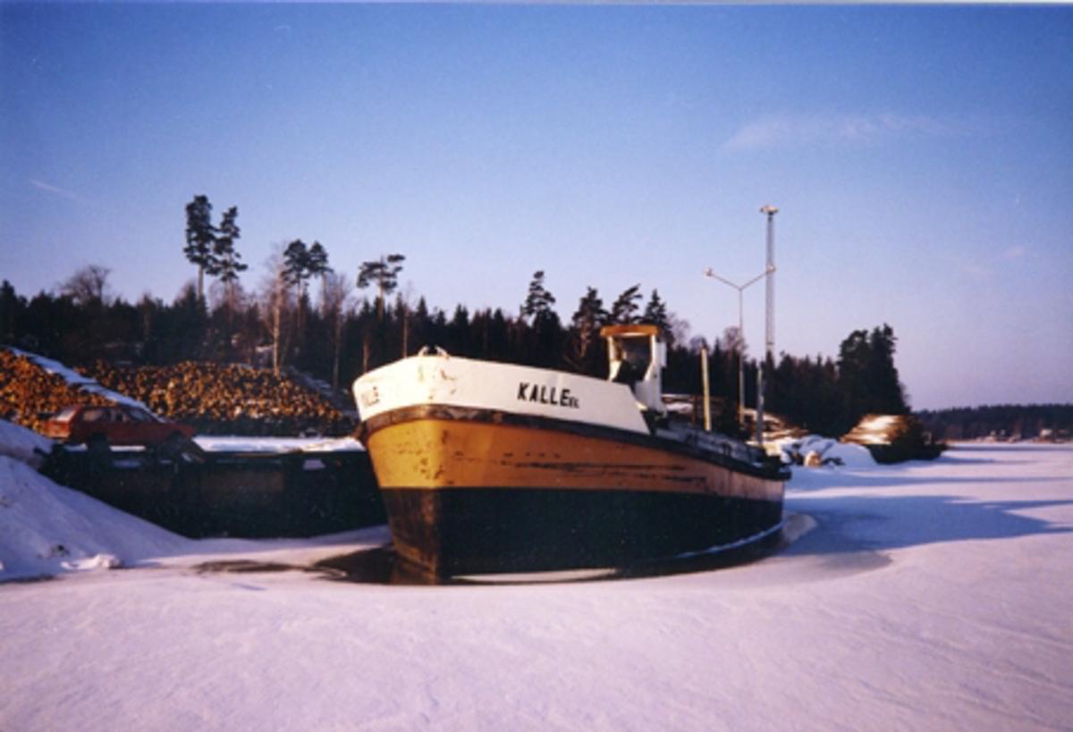 Pråm Kalle el. Ost Kotsundet 2/ 2-86