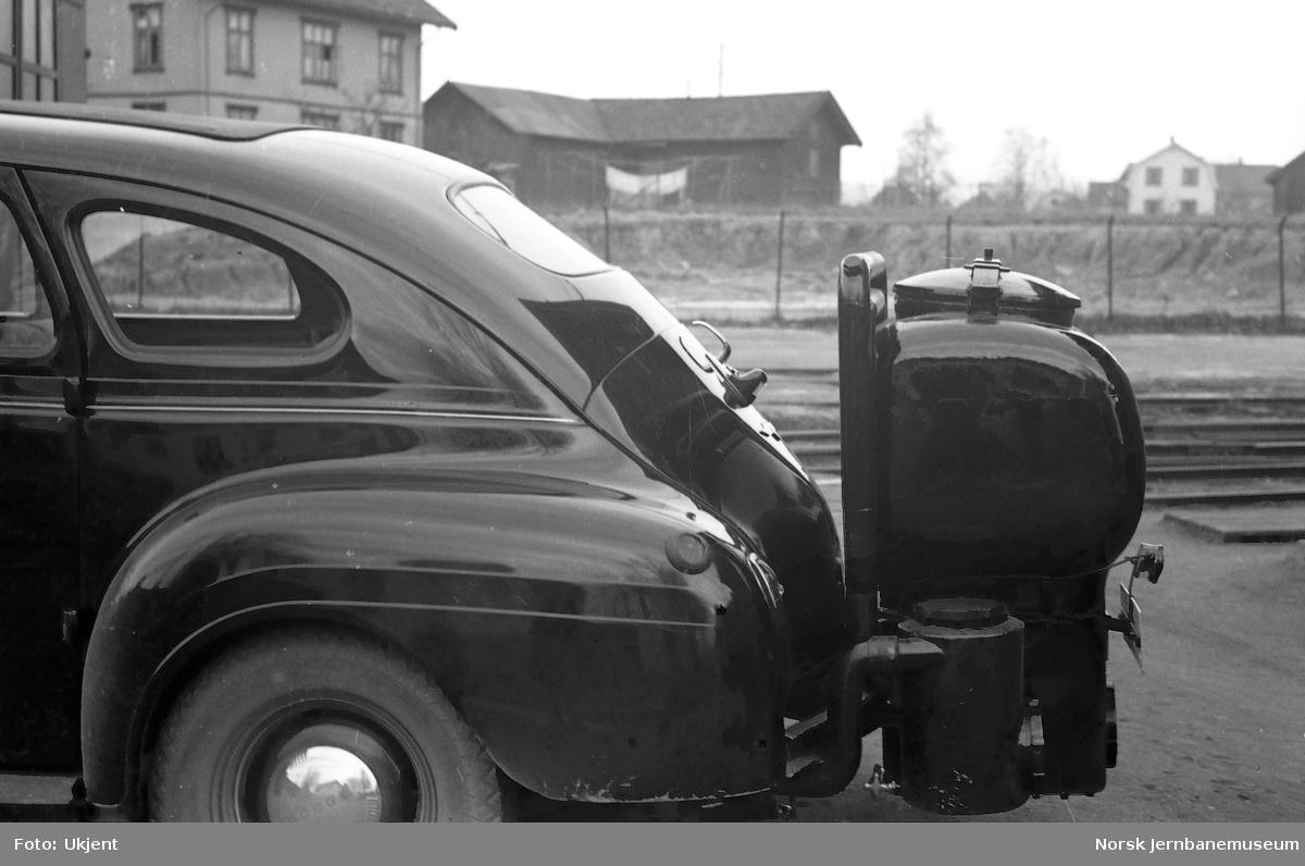 Personbil C-18464 med påmontert gassgenerator