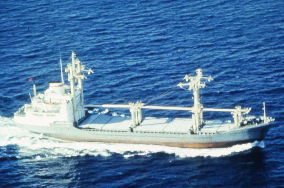 Russisk fartøy av Igor Grabar - klassen.
