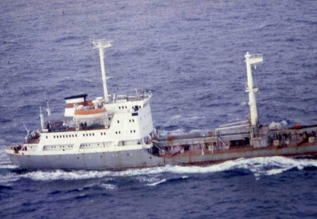 Russisk fartøy av Mod. Altay - klassen med navnet Prut.