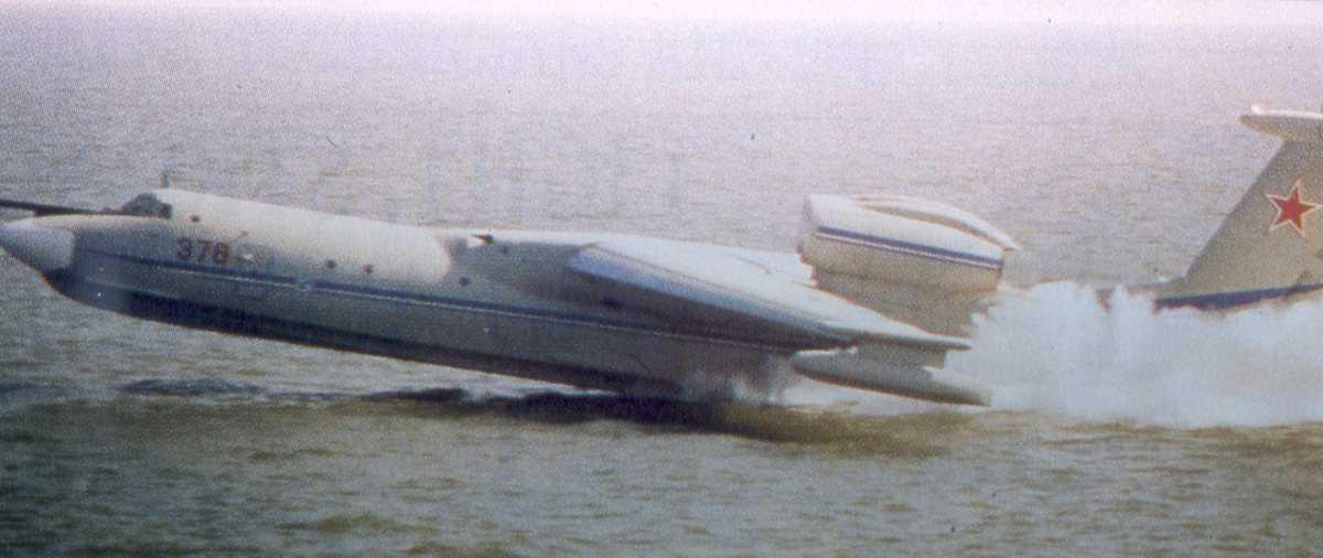 Russisk fly av typen Beriev Be-42 / A-40 Albatros, Mermaid med nr. 378.