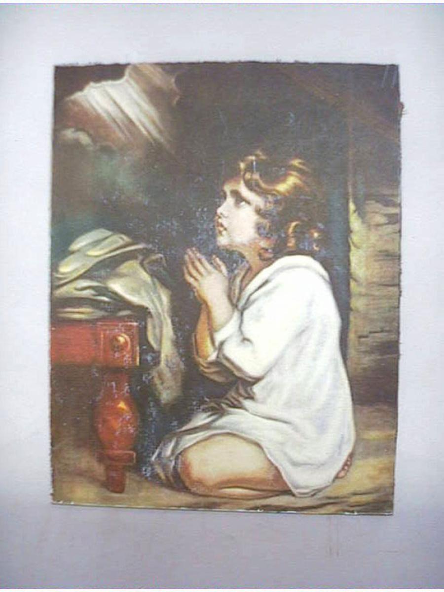 """""""Samuel som barn i bønn"""""""