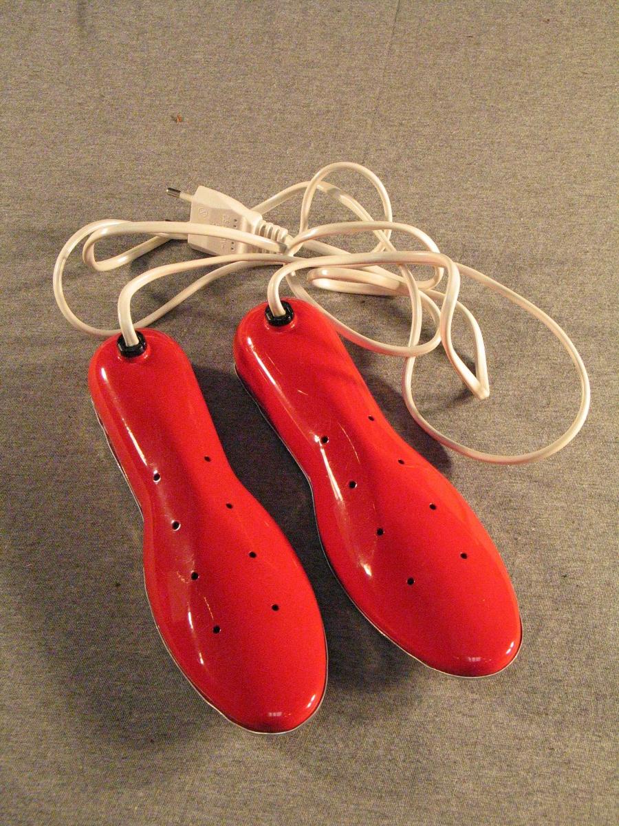 Elektriske skotørkarar i rektangulær opphengsøskje. Heilt ny. Butikkvare