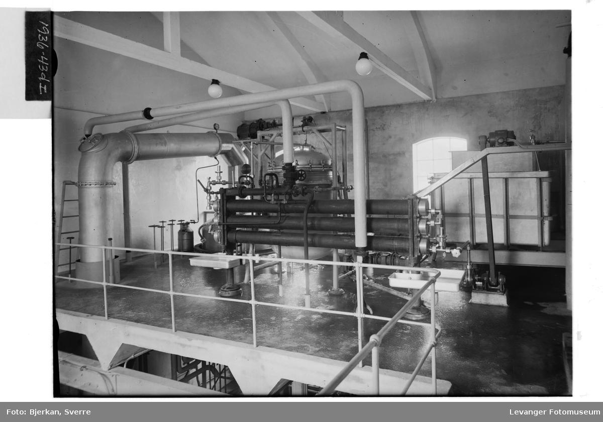 Levanger Melkefabrikk, interiør IV