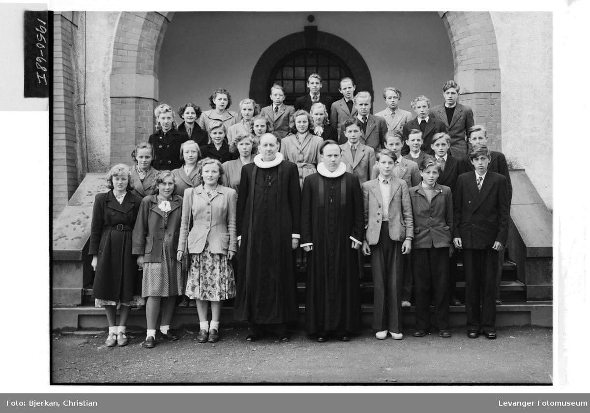 Levanger og Frols konfirmanter, 1950