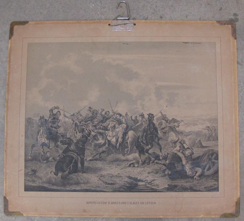Konung Gustaf II Adolfs död i slaget vid Lutzen