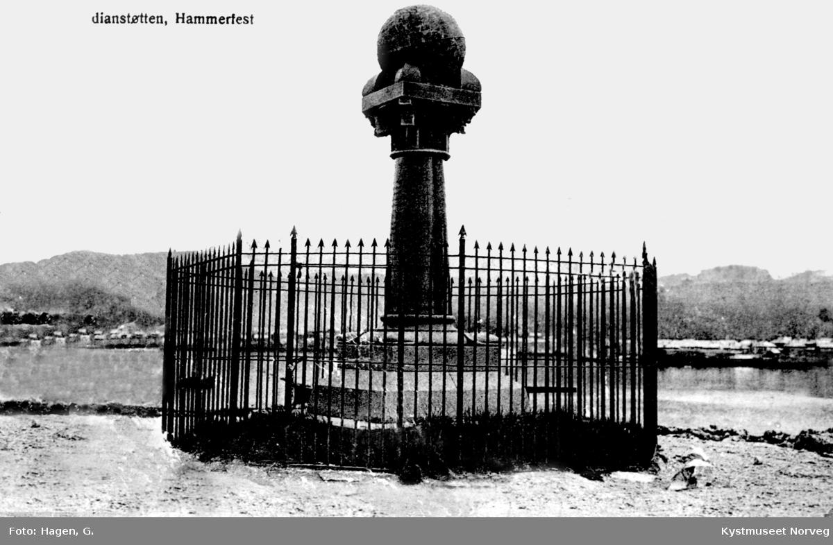 Meridianstøtten i Hammerfest